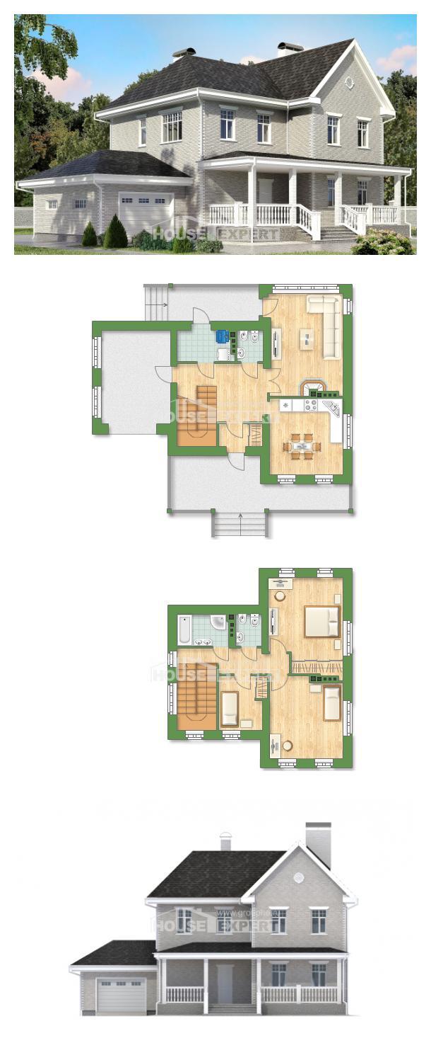 Проект дома 190-001-Л   House Expert