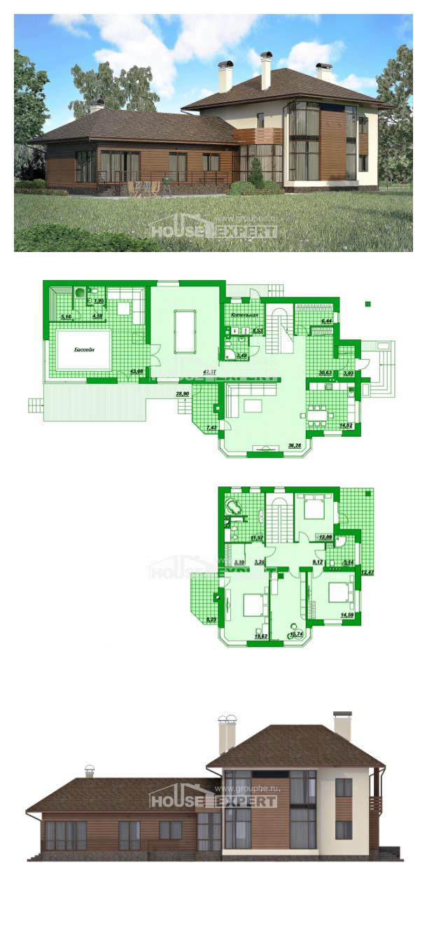 Проект дома 300-001-П | House Expert