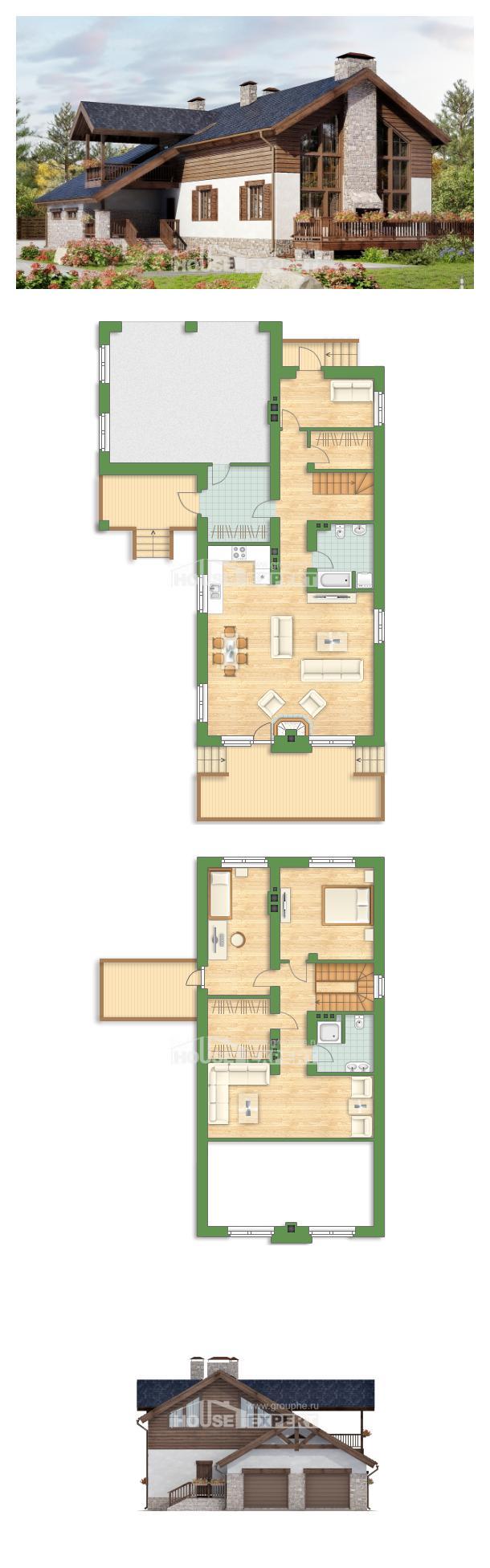 Проект дома 240-002-Л | House Expert