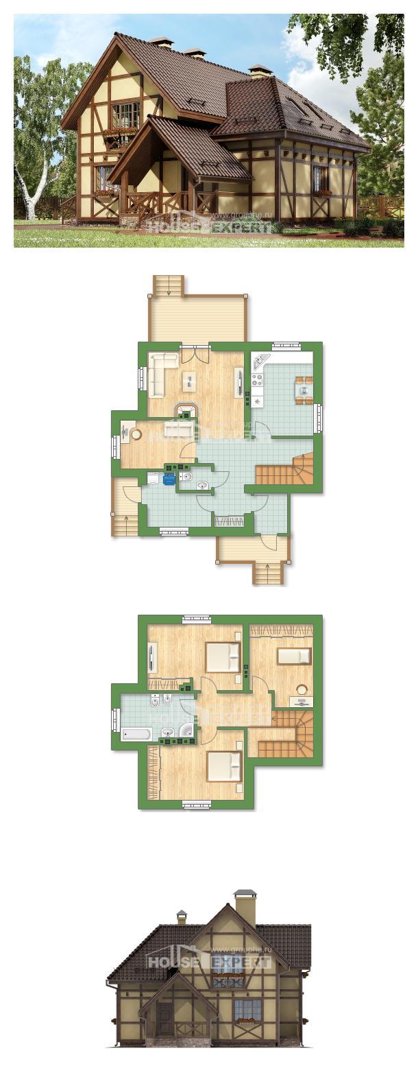 Проект дома 160-003-П | House Expert