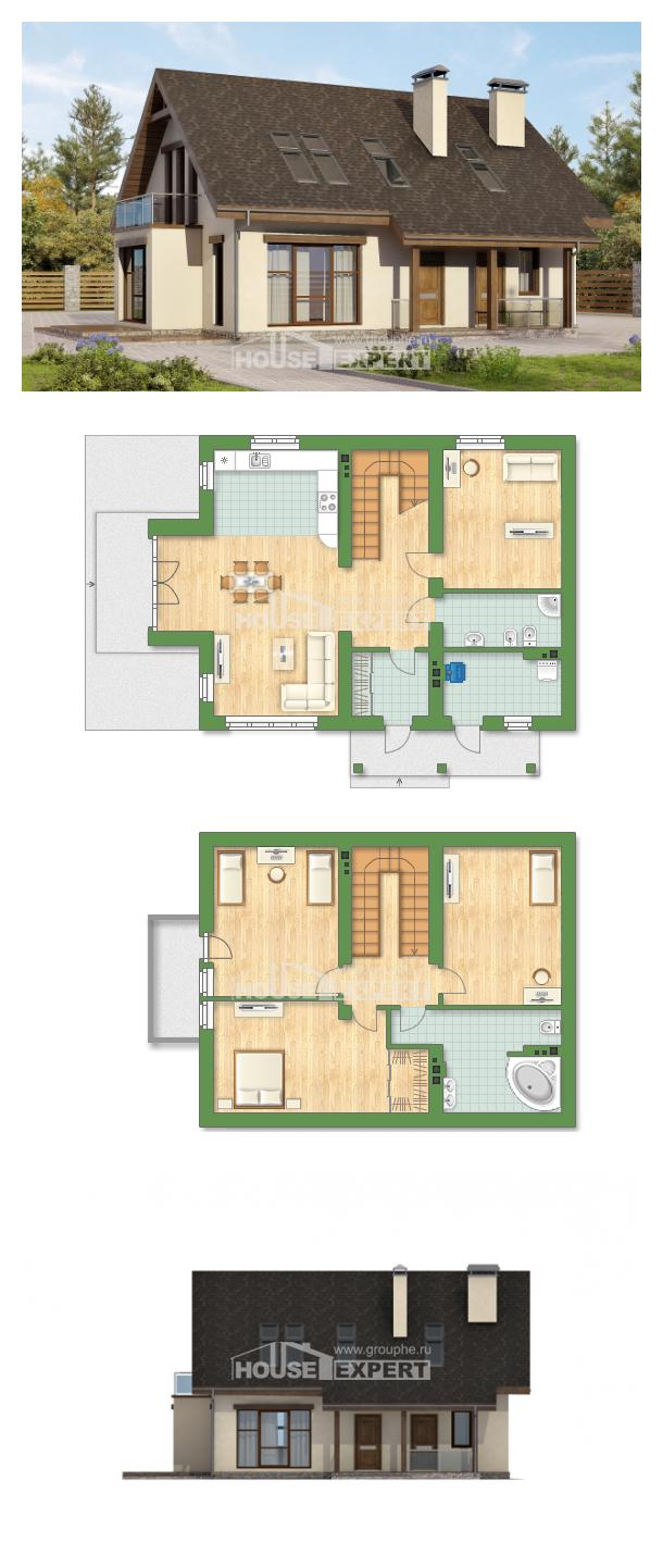 Проект дома 155-012-Л   House Expert