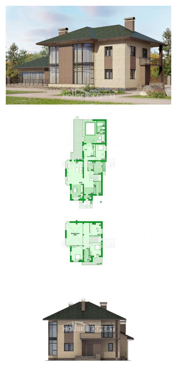 Проект дома 305-003-П   House Expert